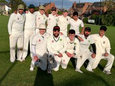 First XI  enjoy the taste of  victory  at Little Bounds