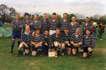 Southam Veterans get 2nd prize in a tournament at Old Leamingtonians