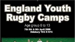 England Youth Rugby Camp