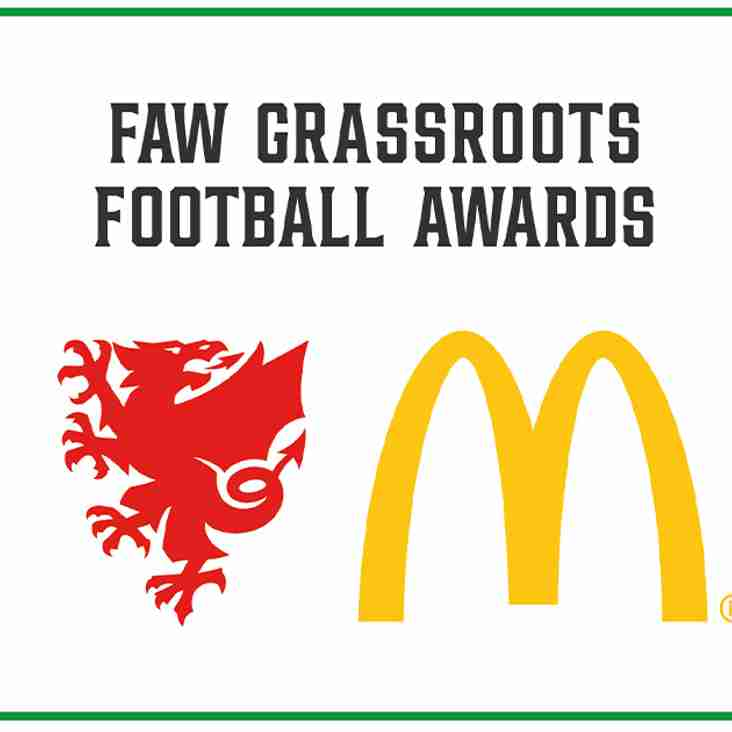 FAW MCDONALD'S GRASSROOTS FOOTBALL AWARDS 2021