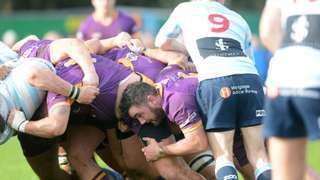 Tennent's Premiership - Marr Rugby v Edinburgh Accies FC (19.10.19) Courtesy of Ken Ferguson