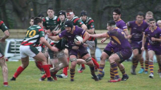 Marr versus GHA  Rugby