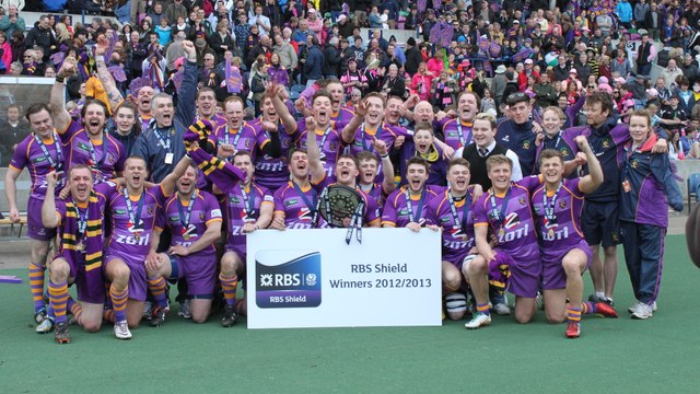 When Murrayfield was turned Purple and Gold