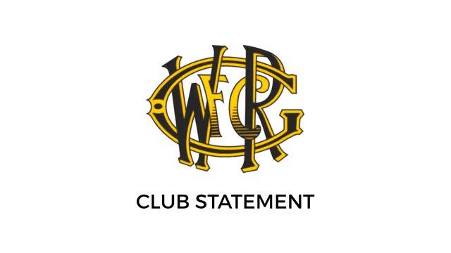 New Club Captain Announced
