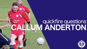 Quickfire Questions - Callum Anderton