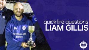 Quickfire Questions - Liam Gillis
