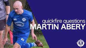 Quickfire Questions - Martin Abery