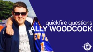 Quickfire Questions - Ally Woodcock