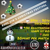 U16'S CHRISTMAS FESTIVAL | Upcoming Tournement Showcase at The TRICO Stadium