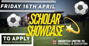 FULL-TIME F&E PROGRAMME   Scholar Showcase Confirmed for Friday 16th April