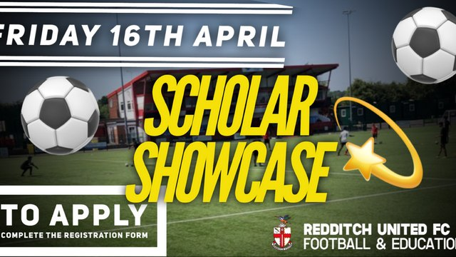 FULL-TIME F&E PROGRAMME | Scholar Showcase Confirmed for Friday 16th April
