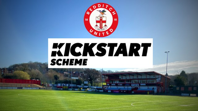 COMMUNITY   Redditch United to Provide KickStart Careers for Young People