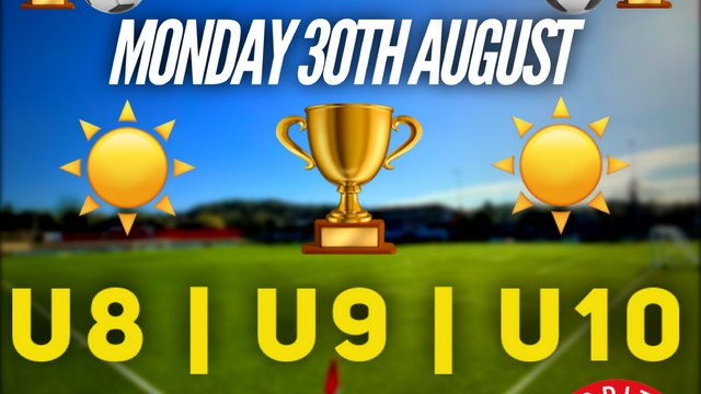 AUGUST BANK-HOLIDAY TOURNAMENT | Latest RUFC Tournament Confirmed!