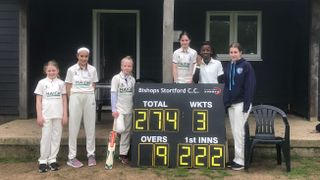 Excellent win for the U12s girls