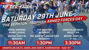 Warrington Armed Forces Day Sat 29th June
