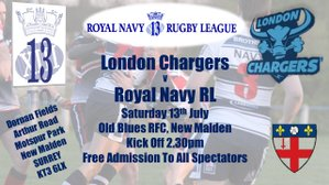 Brothers On The Road Again - RNRL v London Chargers