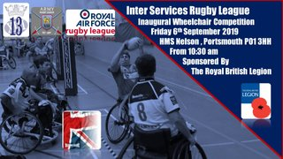 The Inaugural Inter Services Wheelchair Rugby League