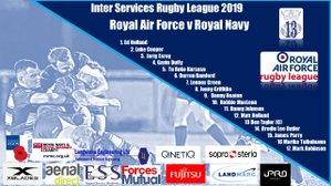 Inter Services Round 3 -  Royal Air Force v Royal Navy