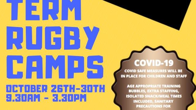 Half Term Rugby Camp at HRFC