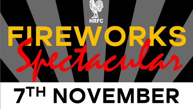 HRFC Fireworks Spectactular