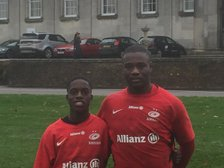 Two Sidcup  U16s  play for Saracens Academy
