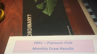 Platinum Club Draws