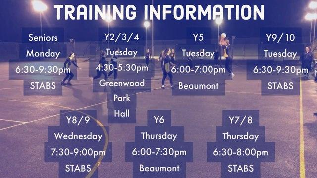 Coaching Schedule 2021/2022