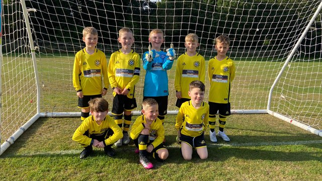 Sutton u7 rebels sponsored by hodgson construction and joinery