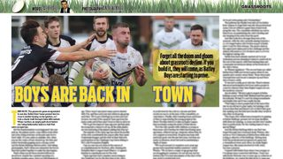 Batley Boys Feature in Rugby League World Magazine