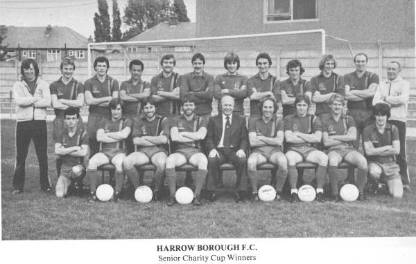 1979-80  A Witham, P Caines, H Manoe, E Stein, B Bennett, L Currell, J Fanner,  P Robson, F Seward, P Sharratt, G Gilbert, A King (physio) M Doherty, R Thomas, I Forrest, G Lidster, M Tomkys (manager), M Schools,  C Rapley, C Hutchings, R Metz