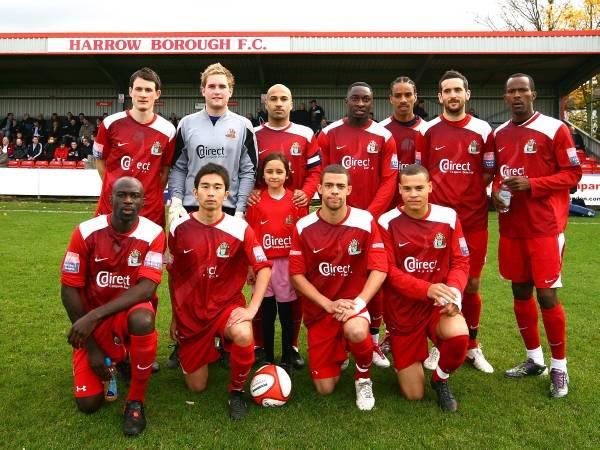 Boro Team v Chesterfield FA Cup  2010. D Leech. N Jupp. W Walters. D Ijaha. R Baptiste. D McGonigle. D Clarke. K Frempong. K Nakashima. R Watts. T Hewitt.