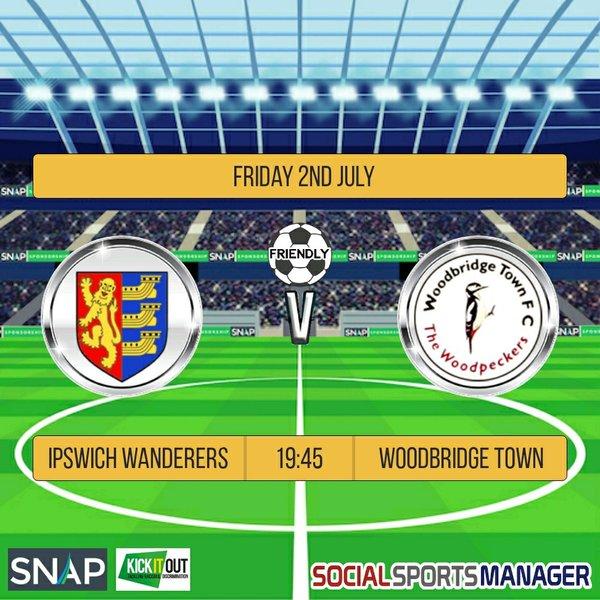 IWFC Vs Woodbridge - 2nd July