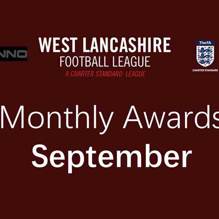 Monthly Awards