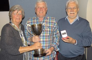 Keith Tuckey Trophy, Denis Lawton, presented by Directors Alan and Barbara Powell