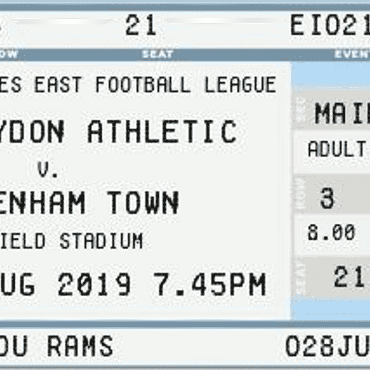 Rams Ready for First Home Clash...