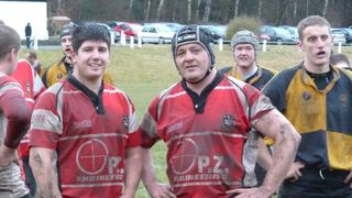 Kestrels beat top of the league Leodensians 15-13. Jan 2010