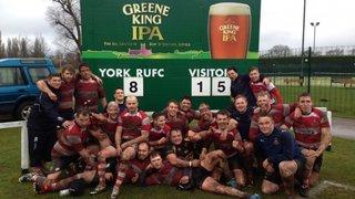 Cleckheaton Kestrels win away at York