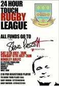 Sat 5th July - 24hr rugby marathon and fun day