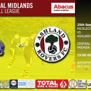 Mickleover RBL v Ashland Rovers – Saturday 25th September 2021