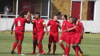 HBFC 4 - 1 Thurrock :  18/08/2012