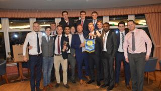 Presentation night celebrating Topping the League and promotion
