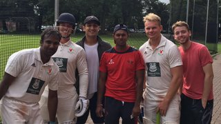 Home Win as Chanderpaul watches on