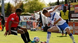 Ten-Men Clarets Fall to Hayes Defeat