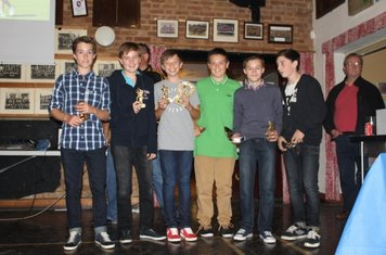 Some of our Under 13 A's who were runners up in Div 1