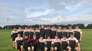 Success on the road for the Under 16's
