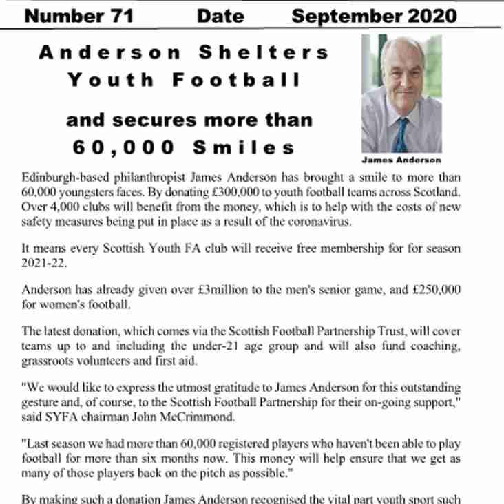 Latest Edition Juvenile News