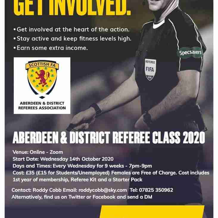 Referees Classes