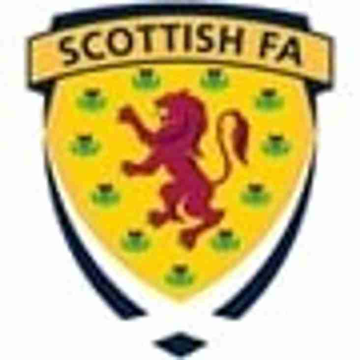 Statement From SFA regards Grassroots Football