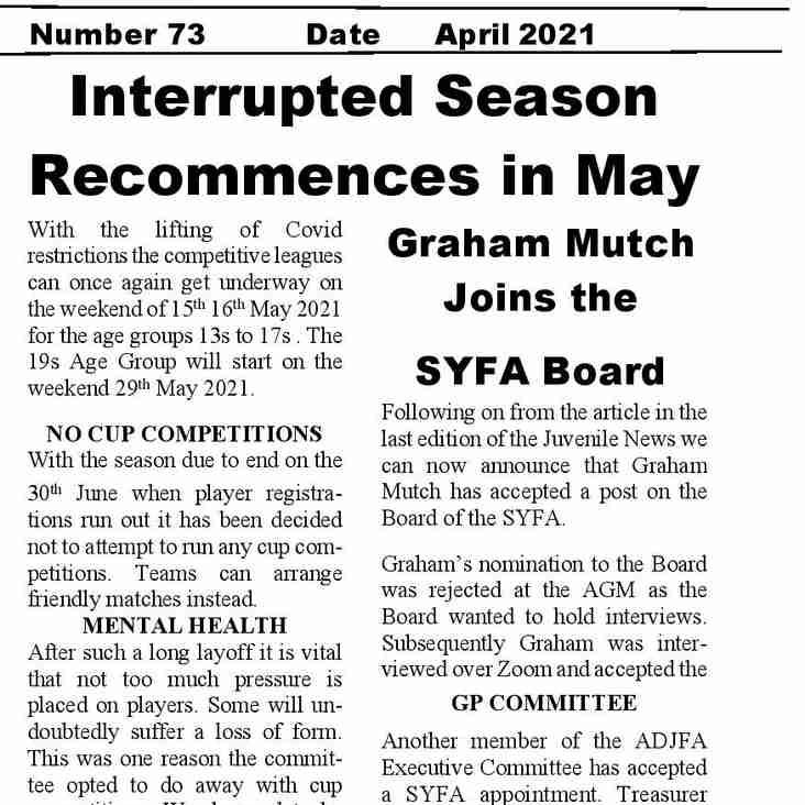 Latest Edition of Juvenile News