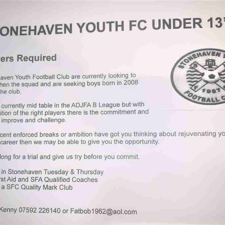 Stonehaven Youth 2008s